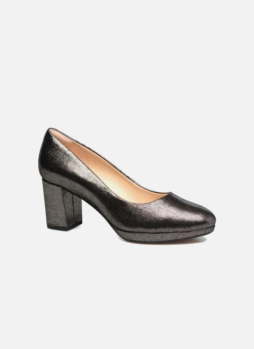 Zapatos de tacón Clarks Kelda Hope Plateado vista de detalle / par