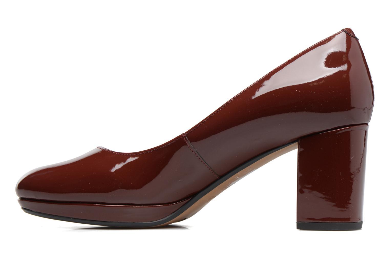 Zapatos de tacón Clarks Kelda Hope Marrón vista de frente