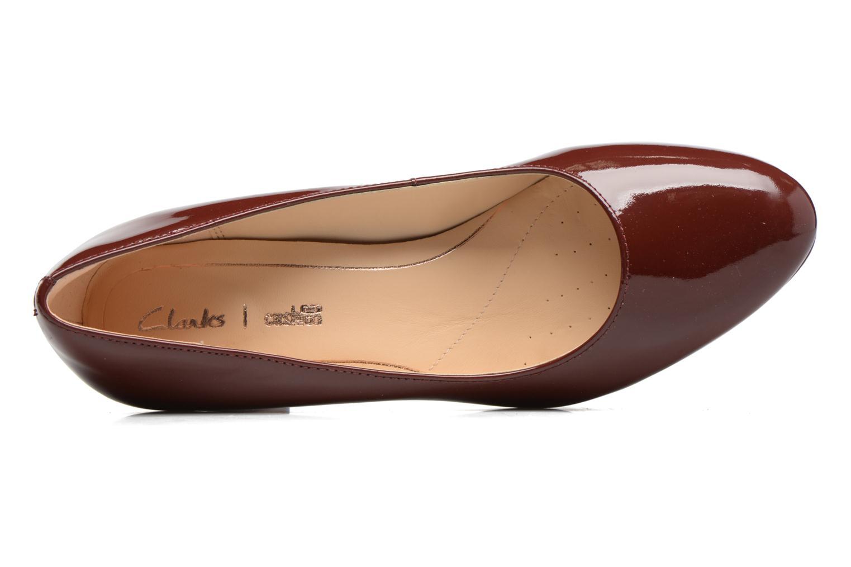 Zapatos de tacón Clarks Kelda Hope Marrón vista lateral izquierda