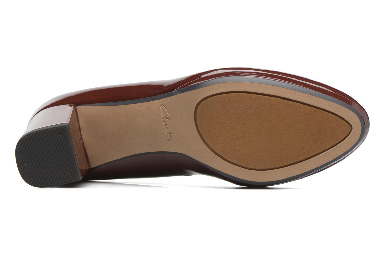 Zapatos de tacón Clarks Kelda Hope Marrón vista de arriba