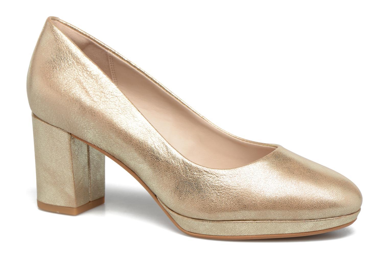 Nuevo zapatos Clarks Kelda Hope (Oro y tacón bronce) - Zapatos de tacón y en Más cómodo 6997c9