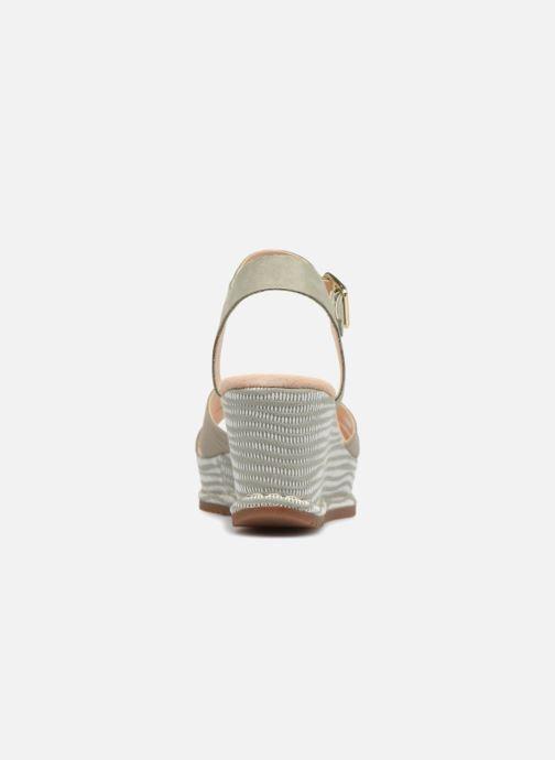 Sandales et nu-pieds Clarks Akilah Eden Vert vue droite