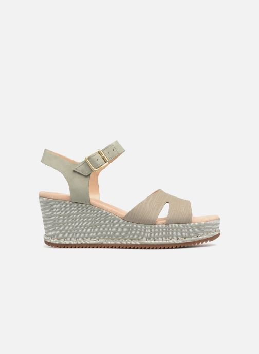 Sandales et nu-pieds Clarks Akilah Eden Vert vue derrière