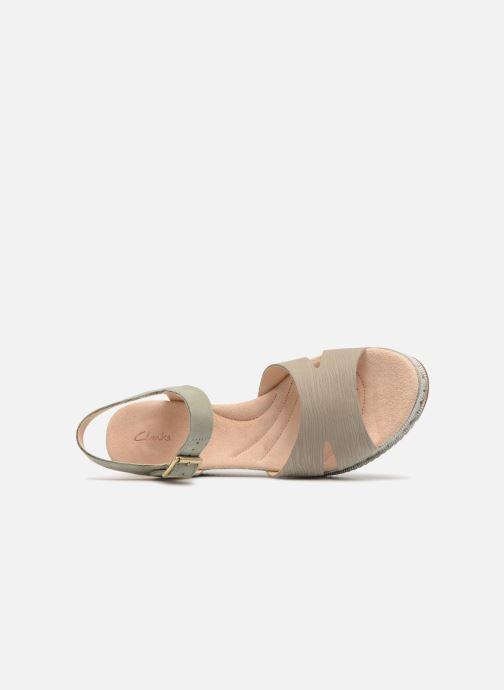 Sandales et nu-pieds Clarks Akilah Eden Vert vue gauche