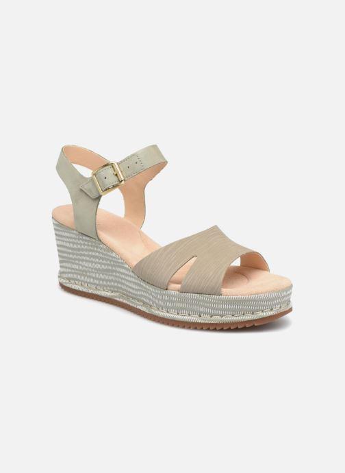 Sandales et nu-pieds Clarks Akilah Eden Vert vue détail/paire