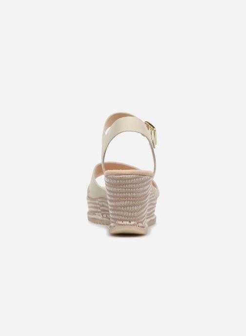 Sandales et nu-pieds Clarks Akilah Eden Blanc vue droite