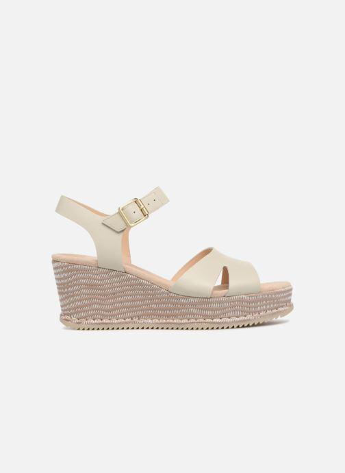 Sandales et nu-pieds Clarks Akilah Eden Blanc vue derrière