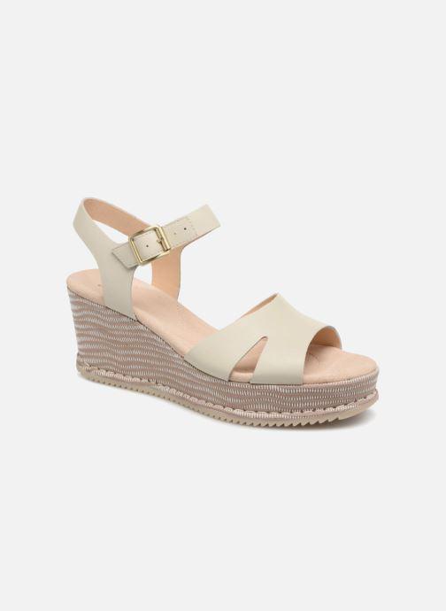 Sandales et nu-pieds Clarks Akilah Eden Blanc vue détail/paire