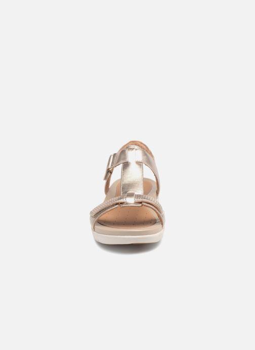 6708e7e76f6b Clarks Unstructured Un Haywood (Bronze and Gold) - Sandals chez ...
