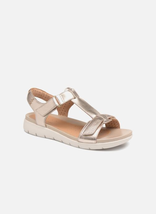 be5a999336f6 Clarks Unstructured Un Haywood (Bronze and Gold) - Sandals chez ...