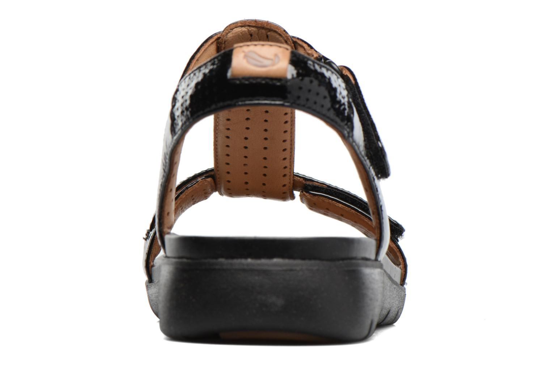 Sandales et nu-pieds Clarks Unstructured Un Haywood Noir vue droite