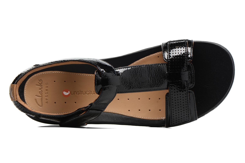 Sandales et nu-pieds Clarks Unstructured Un Haywood Noir vue gauche