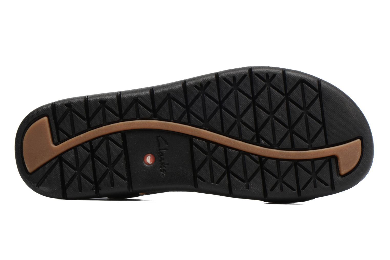 Sandales et nu-pieds Clarks Unstructured Un Haywood Noir vue haut