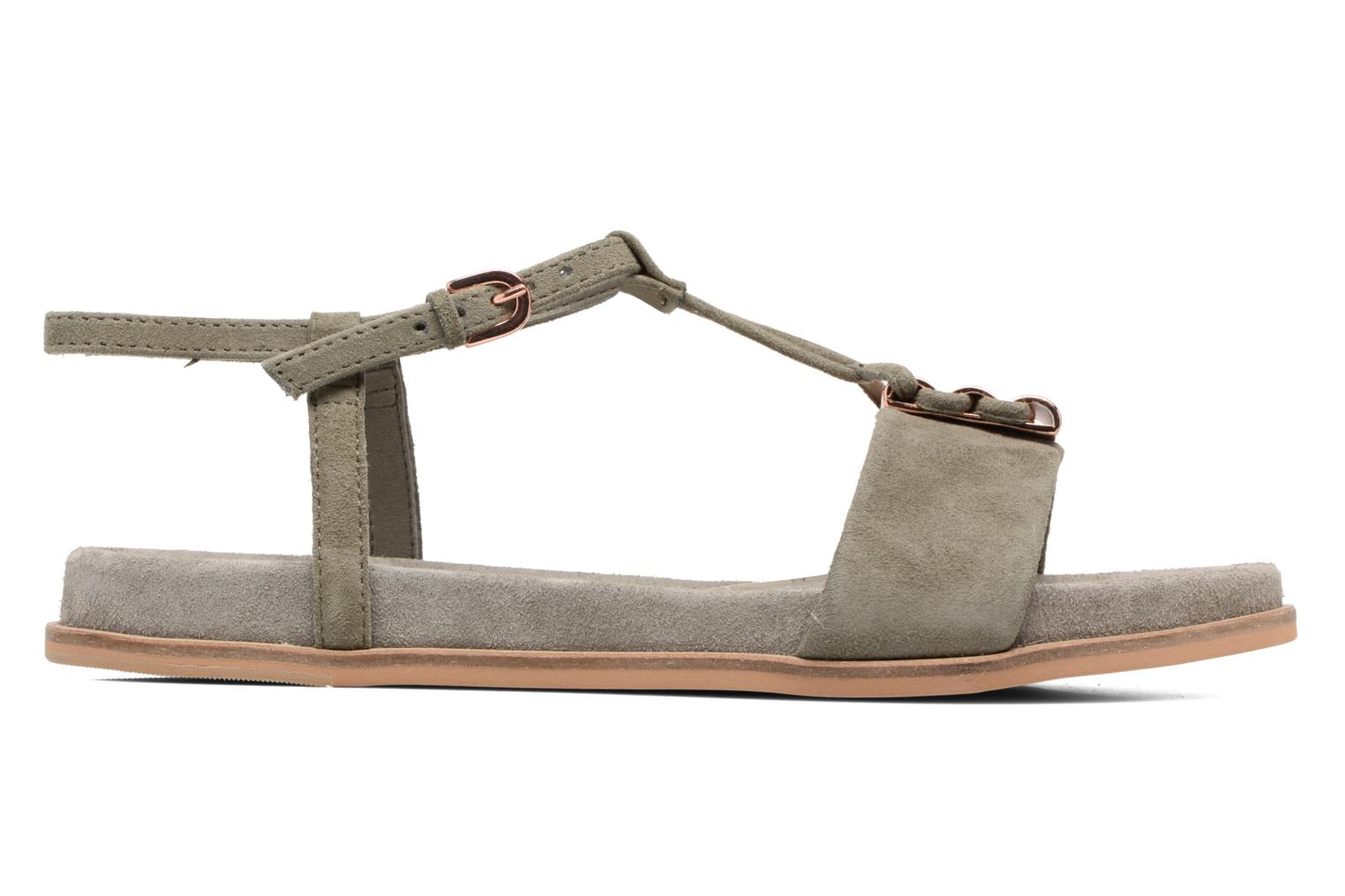 Sandals Clarks Agean Cool Grey back view