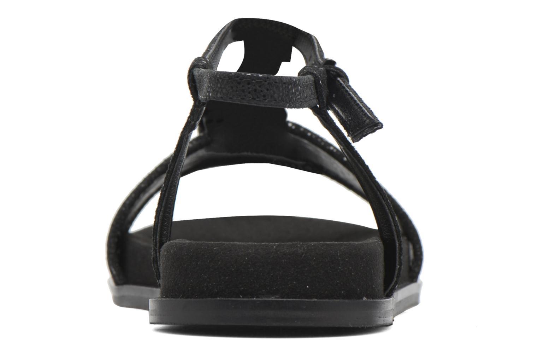 Sandales et nu-pieds Clarks Agean Cool Noir vue droite