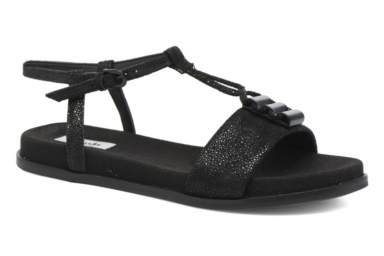 Sandales et nu-pieds Clarks Agean Cool Noir vue détail/paire