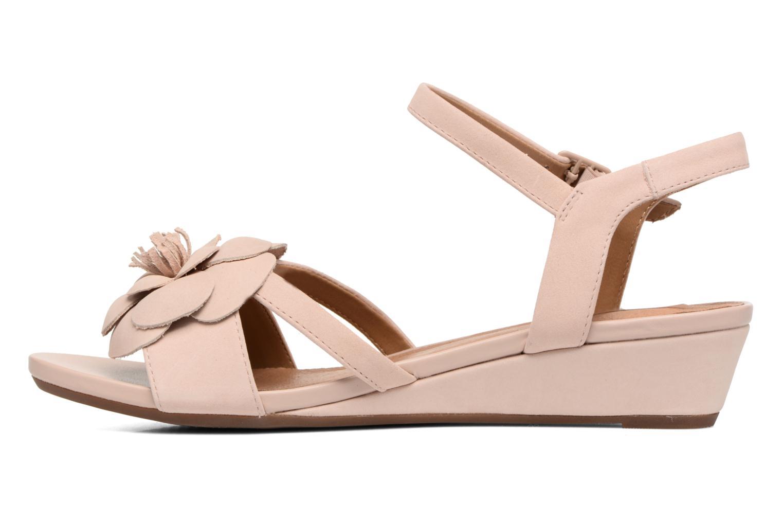 Sandales et nu-pieds Clarks Parram Stella Rose vue face