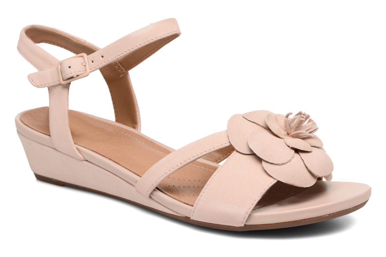 Sandales et nu-pieds Clarks Parram Stella Rose vue détail/paire