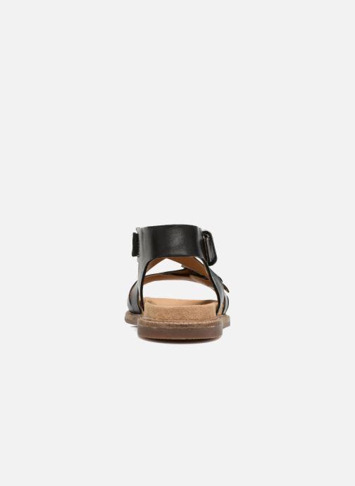 Leather Et Nu Bambi Sandales Corsio Clarks Black pieds m8nN0w