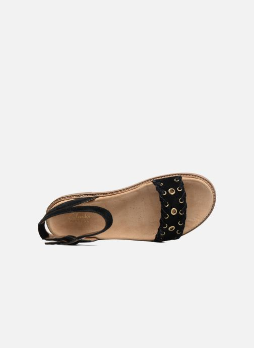 Sandals Clarks Corsio Amelia Black view from the left