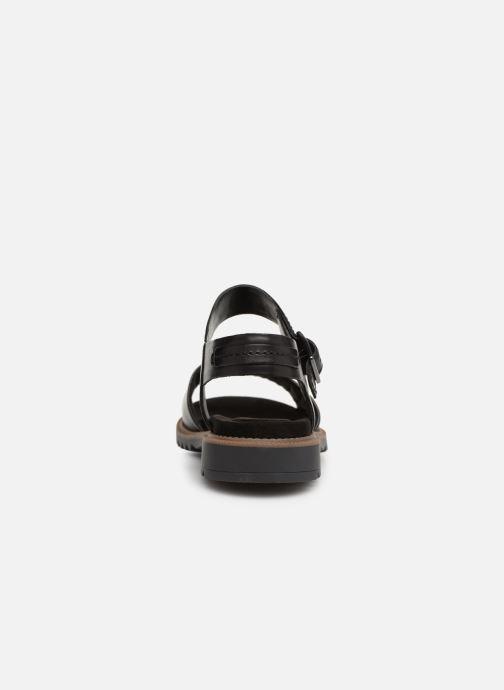 Sandali e scarpe aperte Clarks Ferni Fame Nero immagine destra