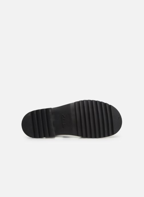 Sandali e scarpe aperte Clarks Ferni Fame Nero immagine dall'alto