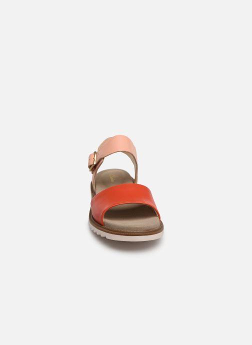 Sandalen Clarks Ferni Fame rosa schuhe getragen