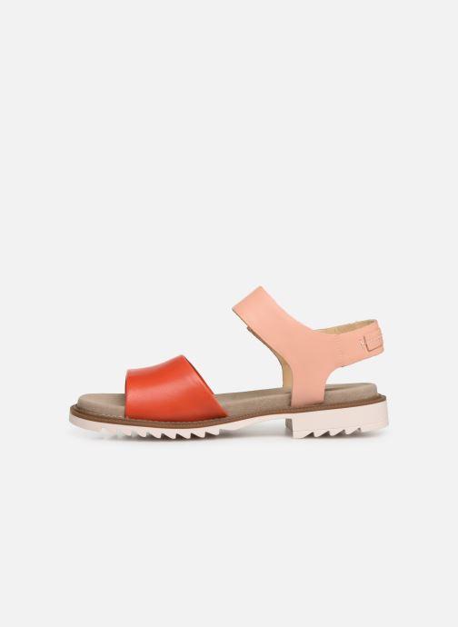 Sandalen Clarks Ferni Fame rosa ansicht von vorne
