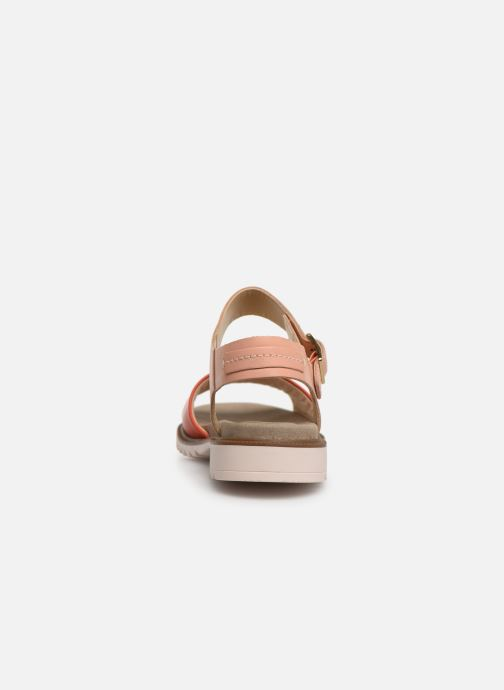 Sandals Clarks Ferni Fame Pink view from the right