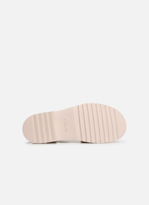 Sandals Clarks Ferni Fame Pink view from above