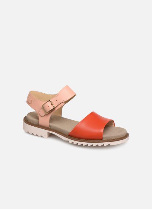 Sandaler Clarks Ferni Fame Pink detaljeret billede af skoene