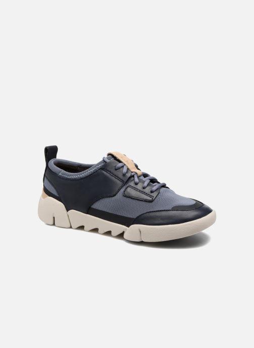 Sneakers Clarks Tri Soul Blå detaljeret billede af skoene