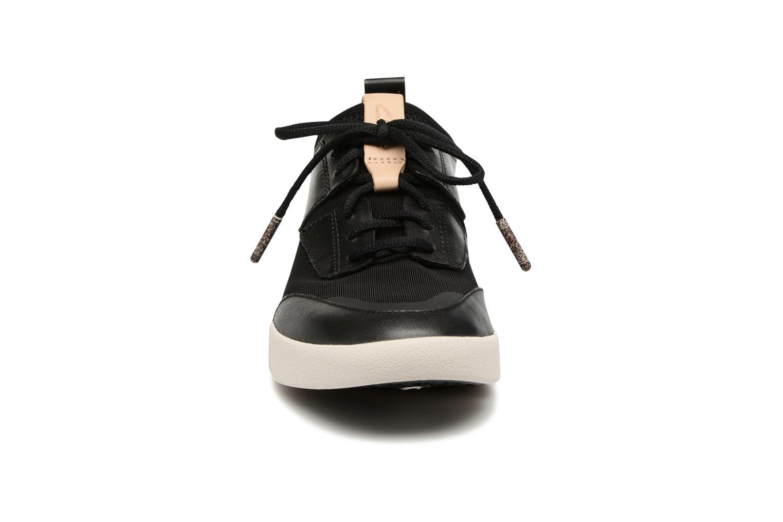 Baskets Clarks Tri Soul Noir vue portées chaussures