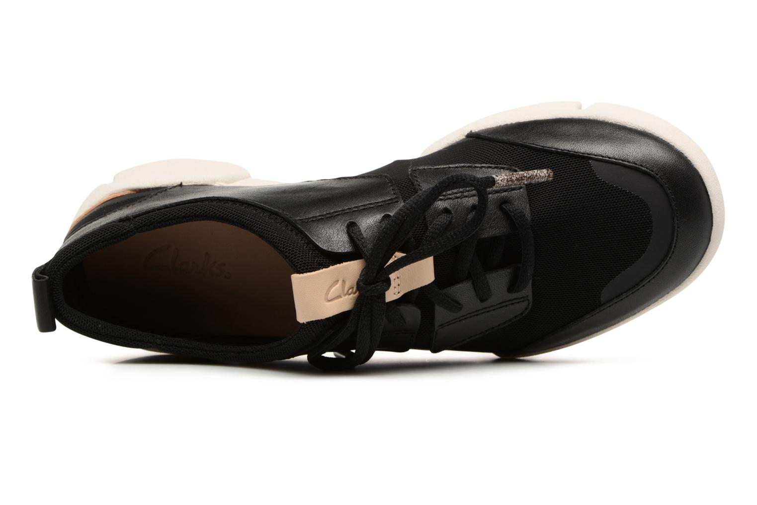 Trainers Clarks Tri Soul Black view from the left