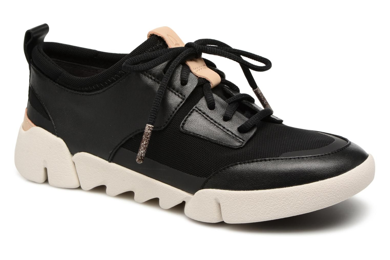 Trainers Clarks Tri Soul Black detailed view/ Pair view