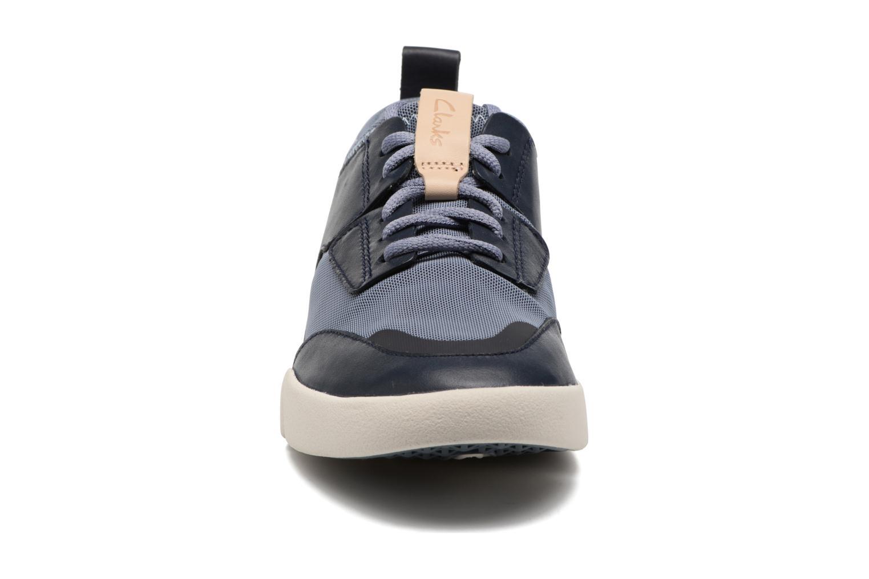 Sneaker Clarks Tri Soul blau schuhe getragen