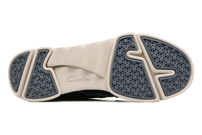Sneaker Clarks Tri Soul blau ansicht von oben