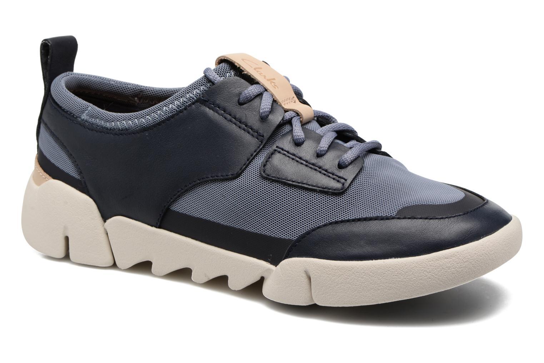 Sneaker Clarks Tri Soul blau detaillierte ansicht/modell