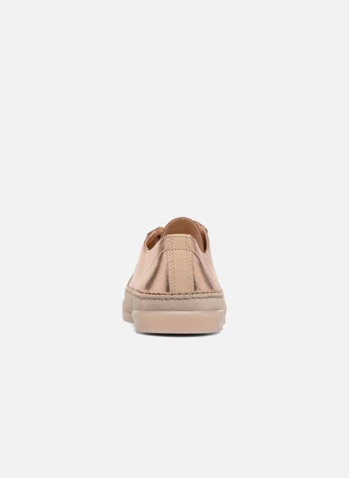 Baskets Clarks Hidi Holly Rose vue droite