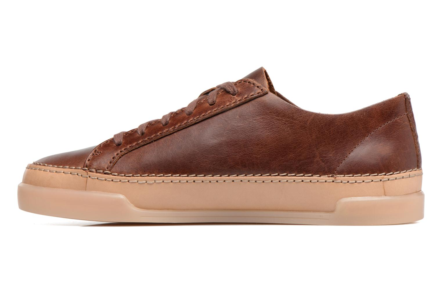 Trainers Clarks Hidi Holly Brown front view