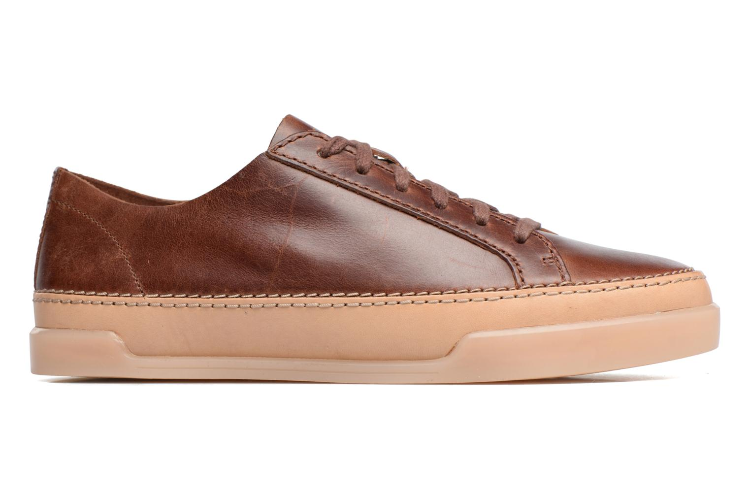 Trainers Clarks Hidi Holly Brown back view