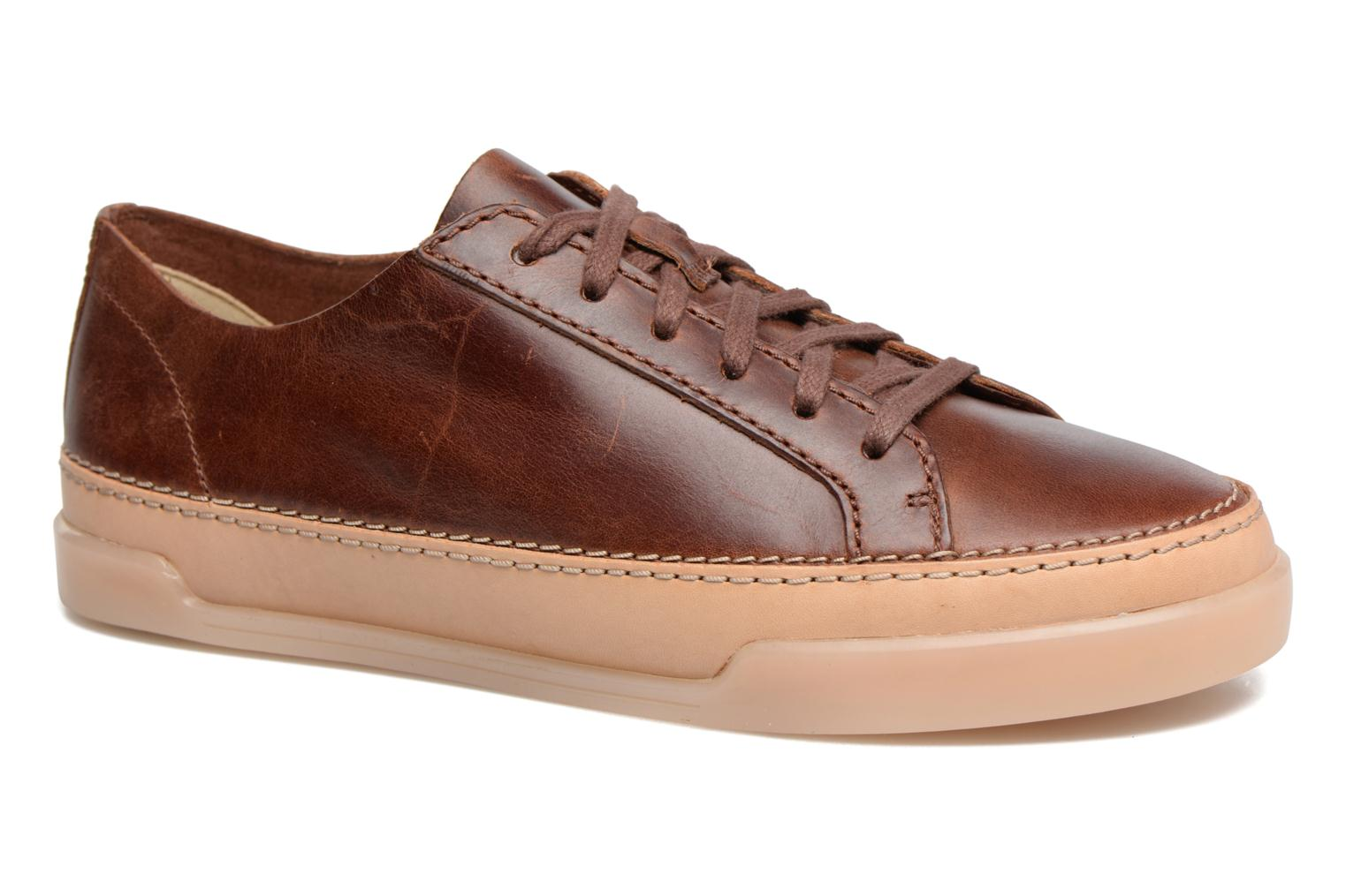 Trainers Clarks Hidi Holly Brown detailed view/ Pair view