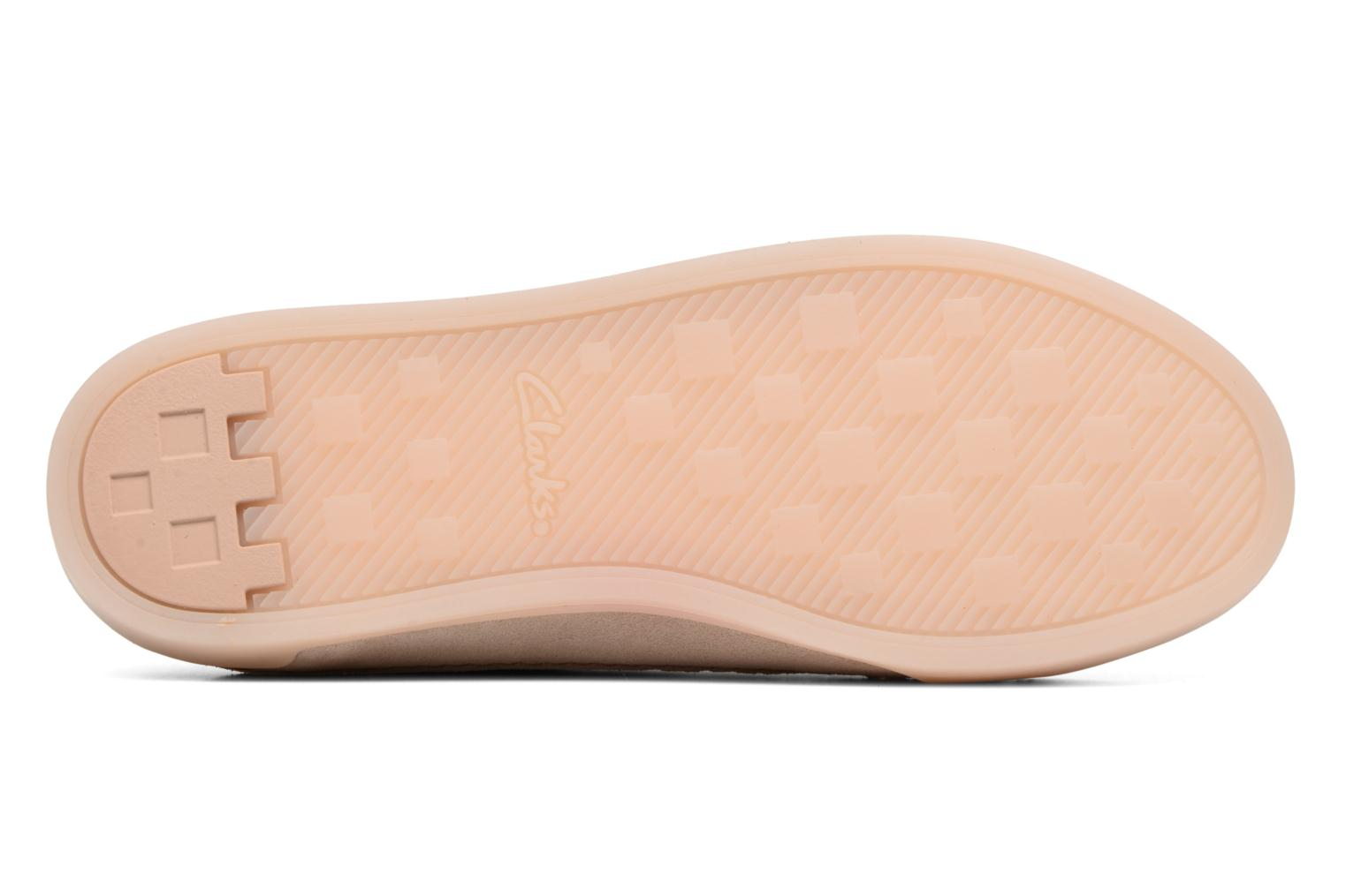 Trainers Clarks Hidi Holly Pink view from above