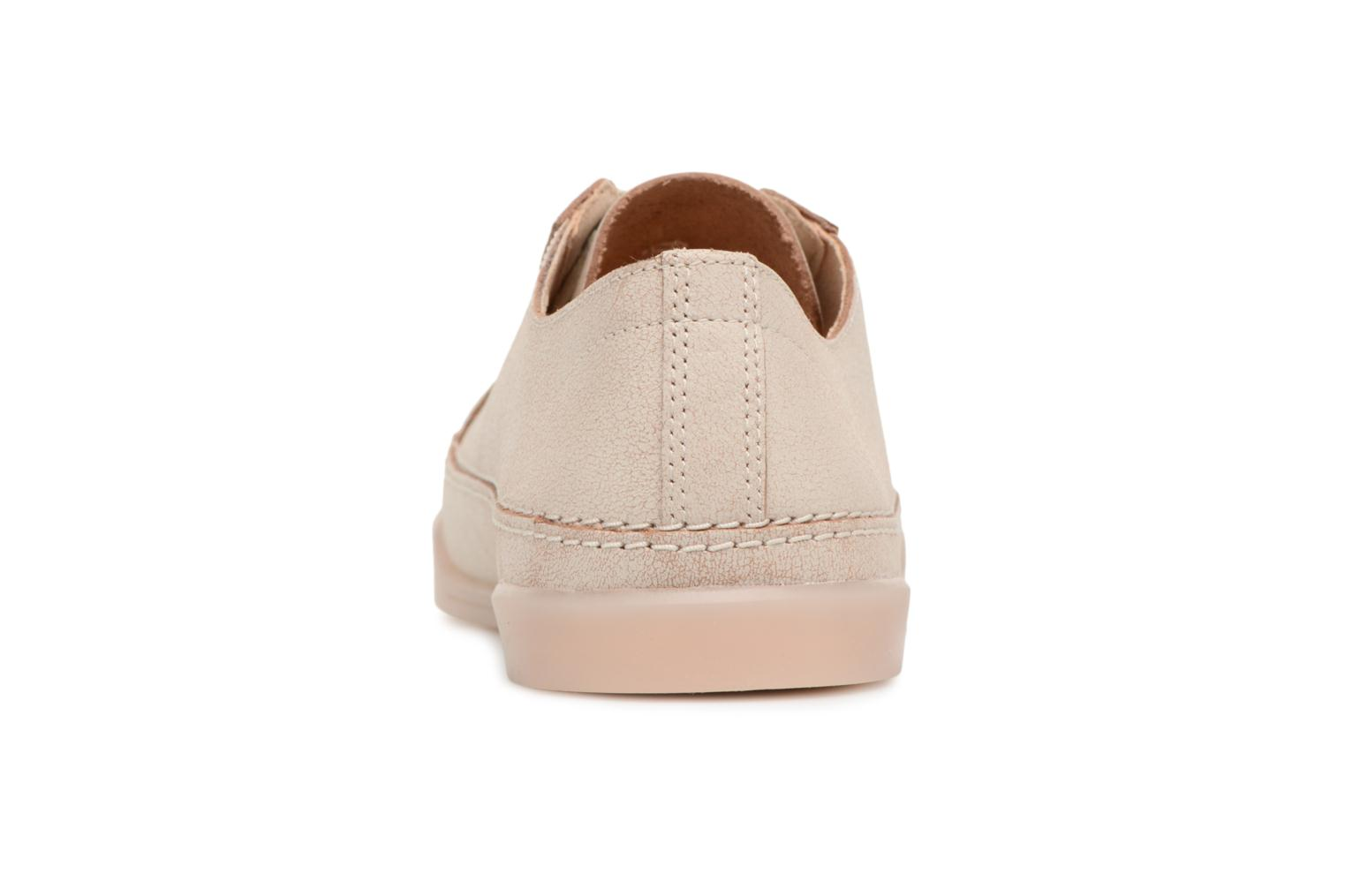 Trainers Clarks Hidi Holly Beige view from the right