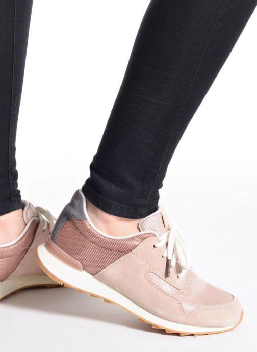 Sneakers Clarks Floura Mix Grijs onder