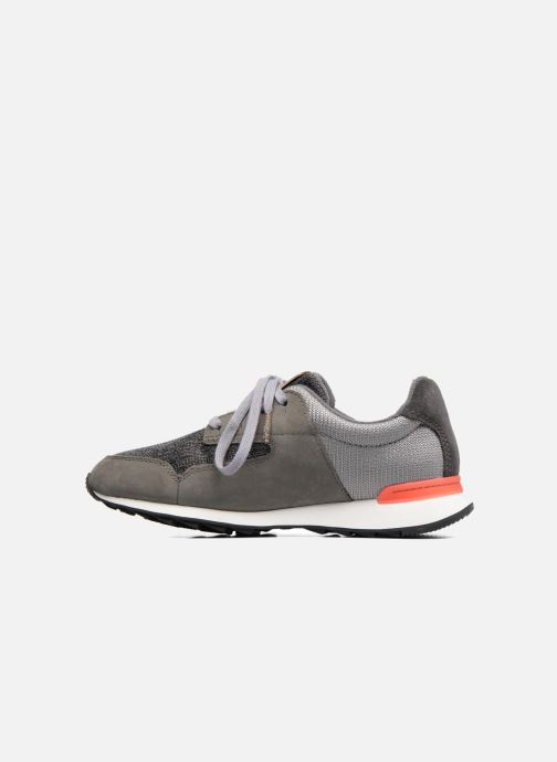 Sneakers Clarks Floura Mix Grijs voorkant