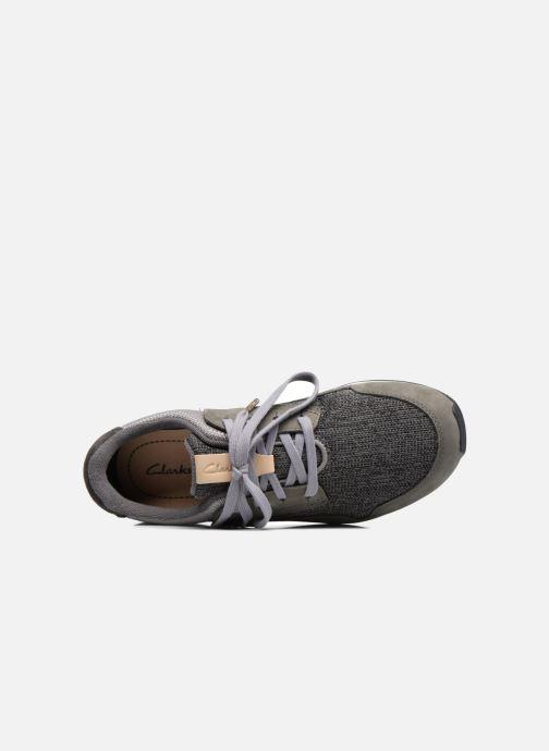 Sneakers Clarks Floura Mix Grijs links