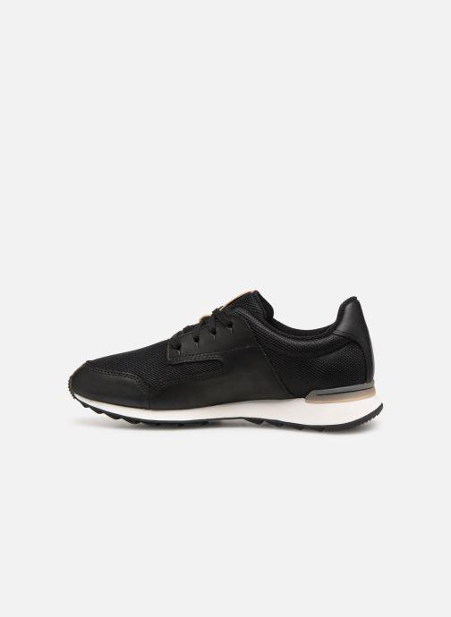 Sneaker Clarks Floura Mix schwarz ansicht von vorne