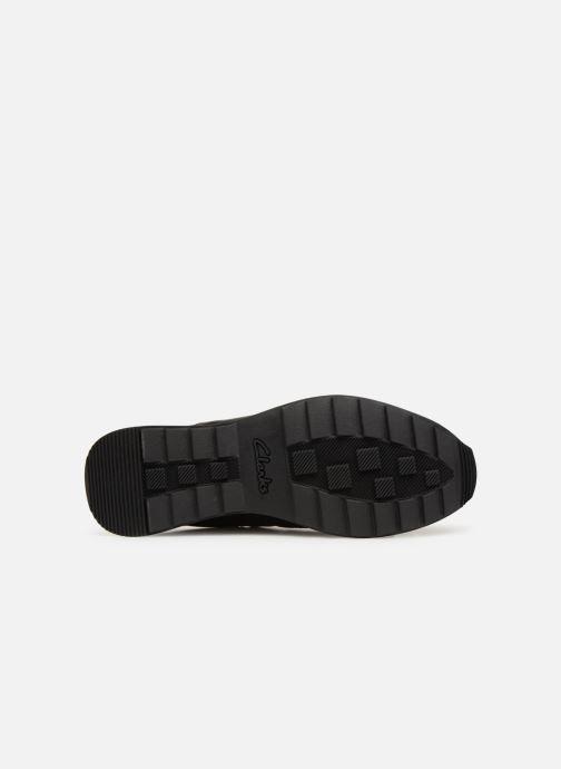 Sneaker Clarks Floura Mix schwarz ansicht von oben