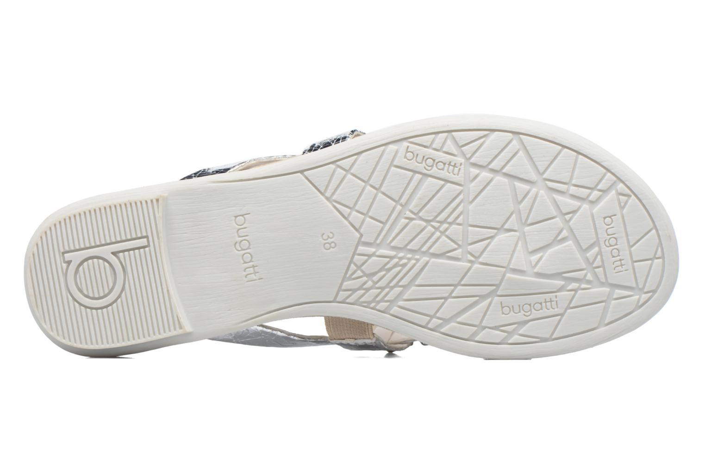 Sandales et nu-pieds Bugatti Jasmin W5978-6N Argent vue haut
